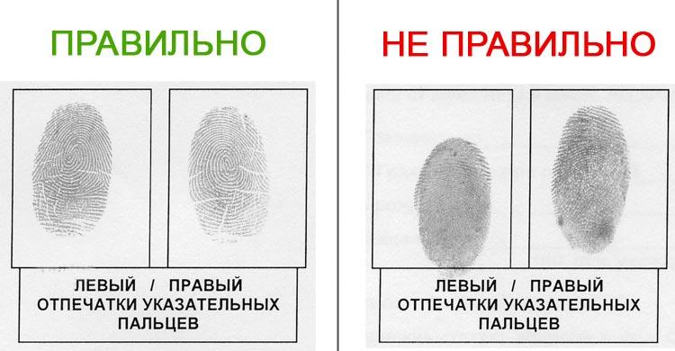 Как в домашних условиях сделать отпечатки пальцев